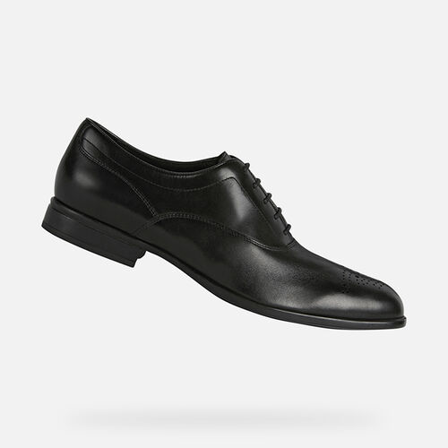 FORMAL SHOES MAN GEOX IACOPO MAN - null