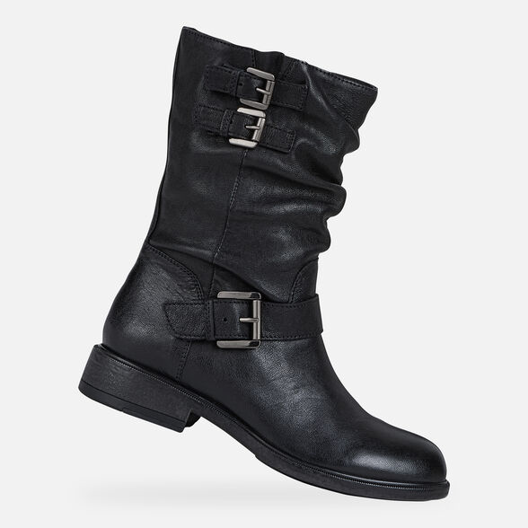 WOMAN ANKLE BOOTS GEOX CATRIA WOMAN - 1