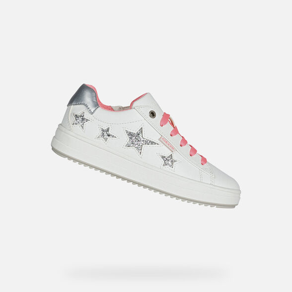 FILLE SNEAKERS GEOX REBECCA FILLE - 1