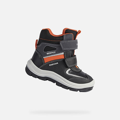 MID-CALF BOOTS BABY GEOX FLANFIL BABY BOY - null