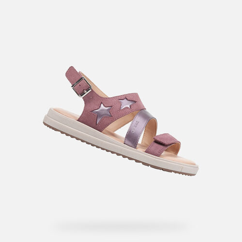 SANDALES FILLE GEOX REBECCA FILLE - null