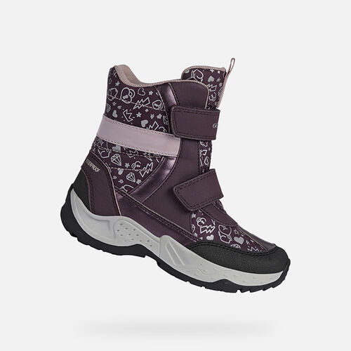 ANKLE BOOTS GIRL GEOX SENTIERO WPF GIRL - null
