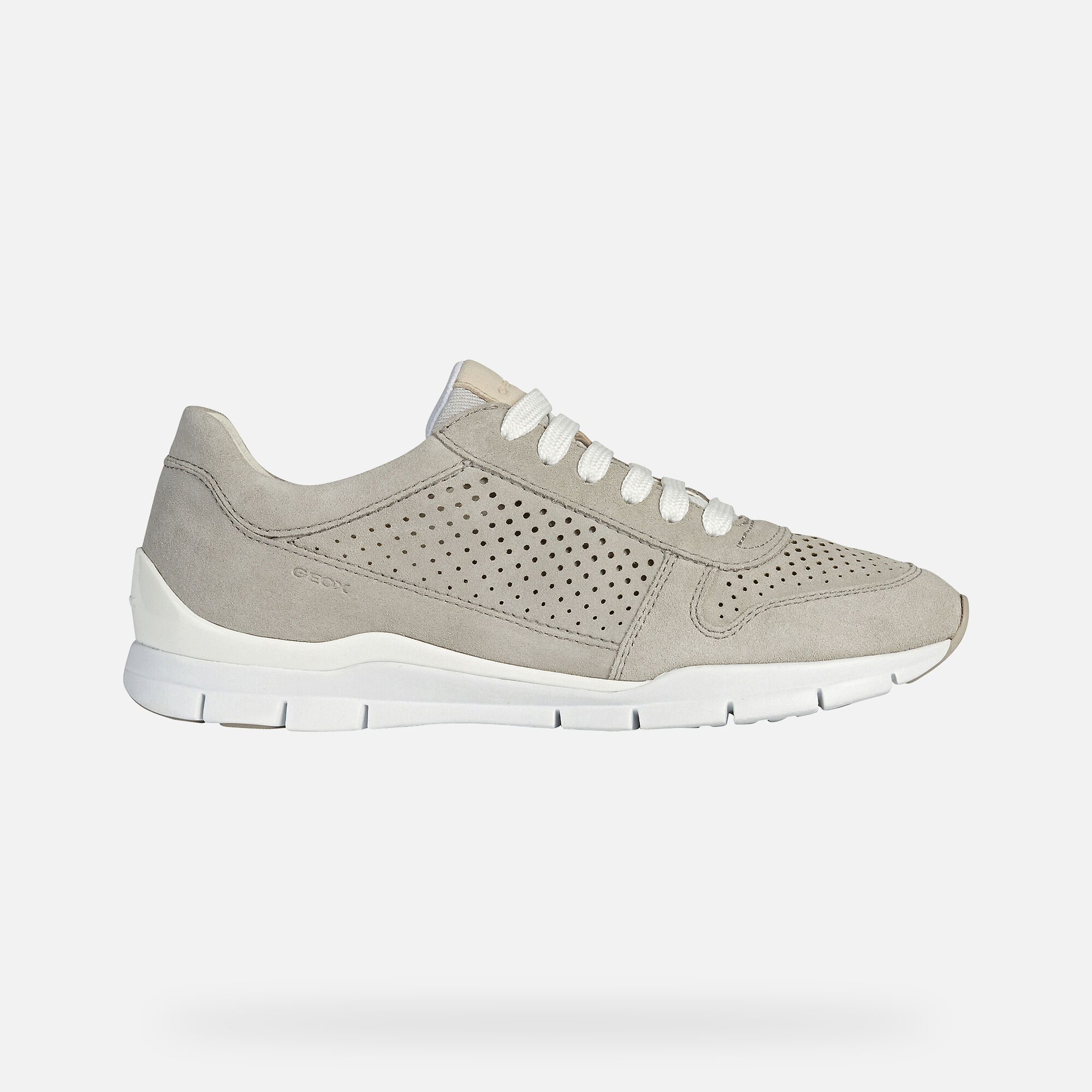 Geox SUKIE Woman: Grey Sneakers   Geox