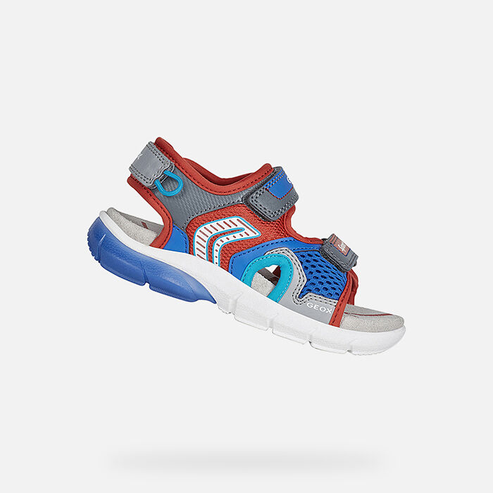 Geox boys' light eclipse 2 low top sneakers shoes trainers