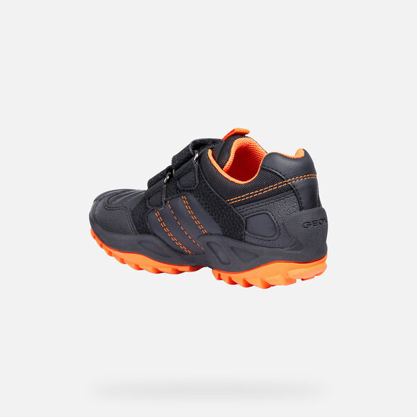 SNEAKERS BAMBINO GEOX NEW SAVAGE BIMBO - 5