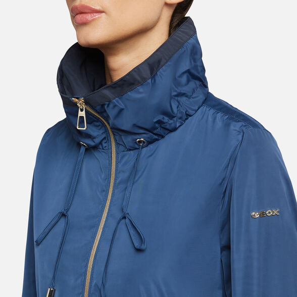 WOMAN JACKETS GEOX GENZIANA WOMAN - 9
