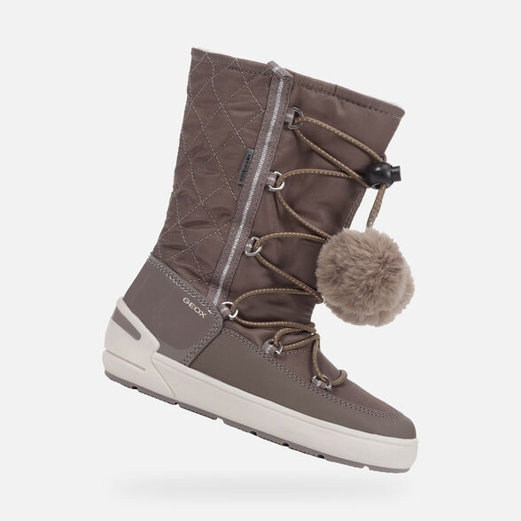 BOTTINES FILLE GEOX SLEIGH ABX FILLE - 1