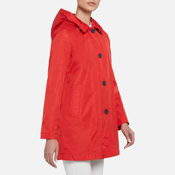WOMAN OVERCOAT GEOX AIRELL WOMAN - 4