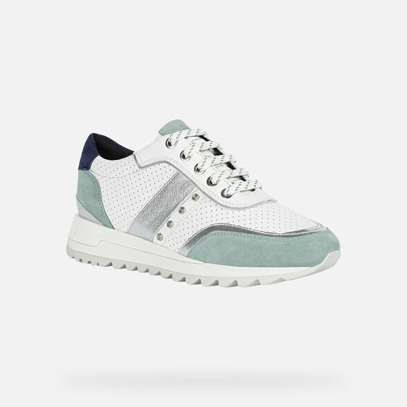 Categoria nascosta per master products Site Catalog GEOX TABELYA WOMAN - WHITE AND MINT