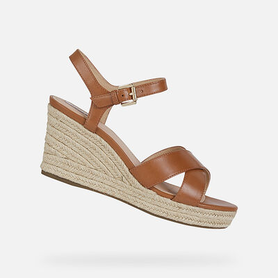 SANDALS WOMAN GEOX SOLEIL WOMAN