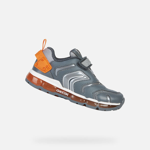 best sneakers hot product the best Geox ANDROID Junior Boy Grey Sneakers | Geox Fall Winter