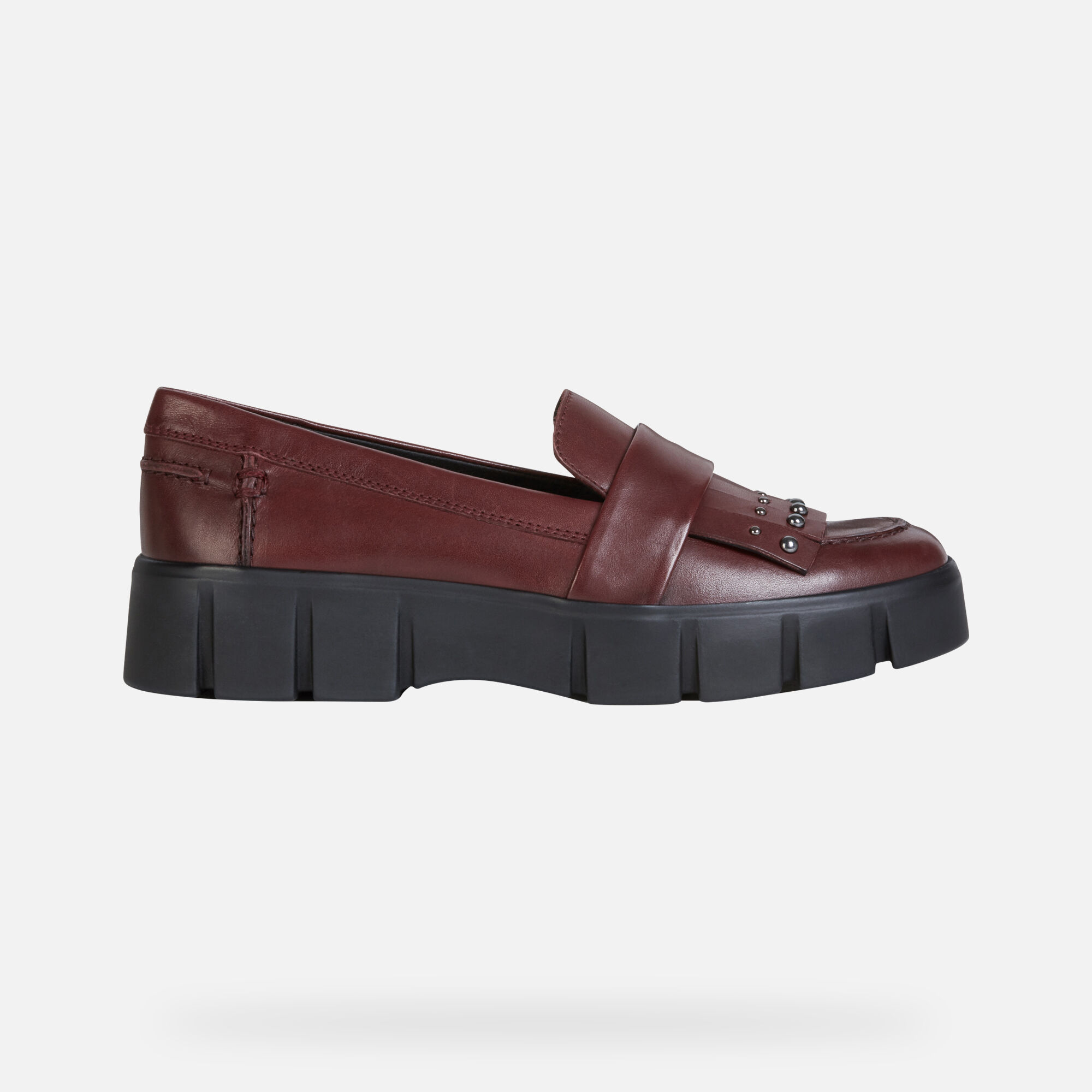 Geox GHOULA Woman: Bordeaux Shoes   Geox Fall Winter