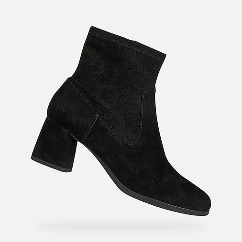 ANKLE BOOTS WOMAN GEOX CALINDA MID WOMAN - null