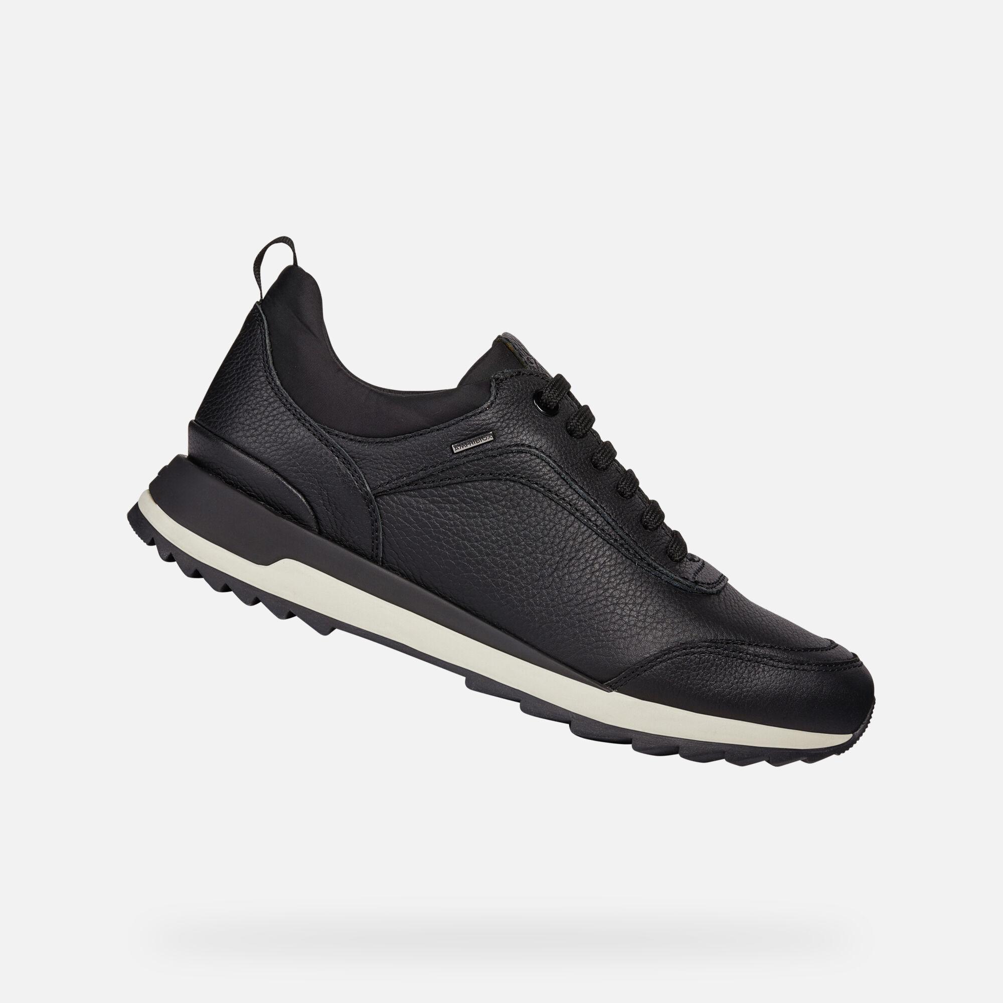 Geox Women's D ANEKO B ABX Black Shoes | Geox Fall Winter