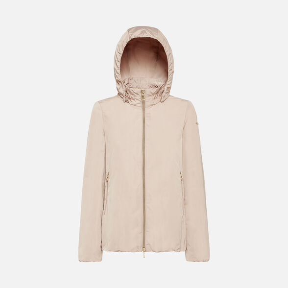 JACKETS WOMAN GEOX NAIOMY WOMAN - ROSE