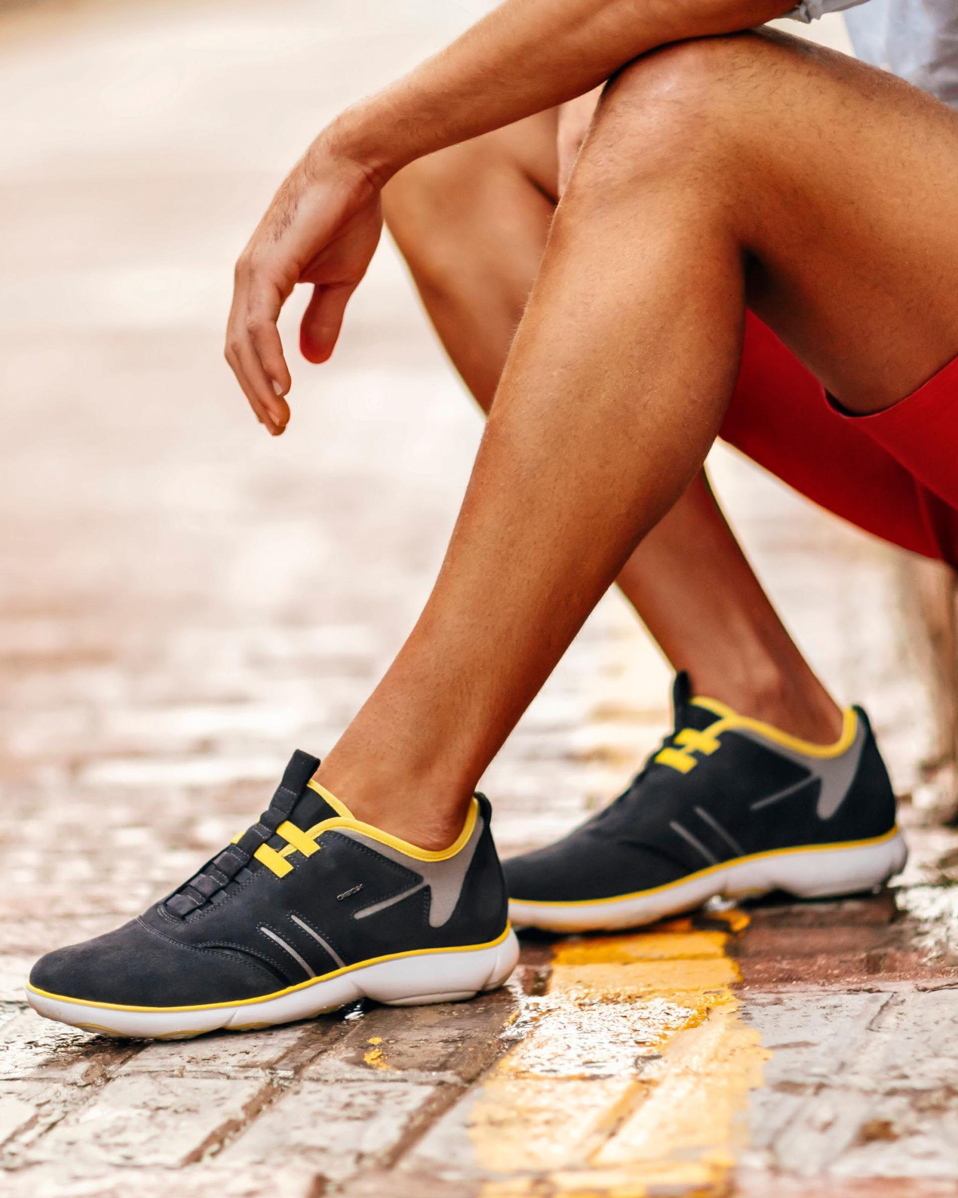 Geox NEBULA Man: Navy blue Sneakers