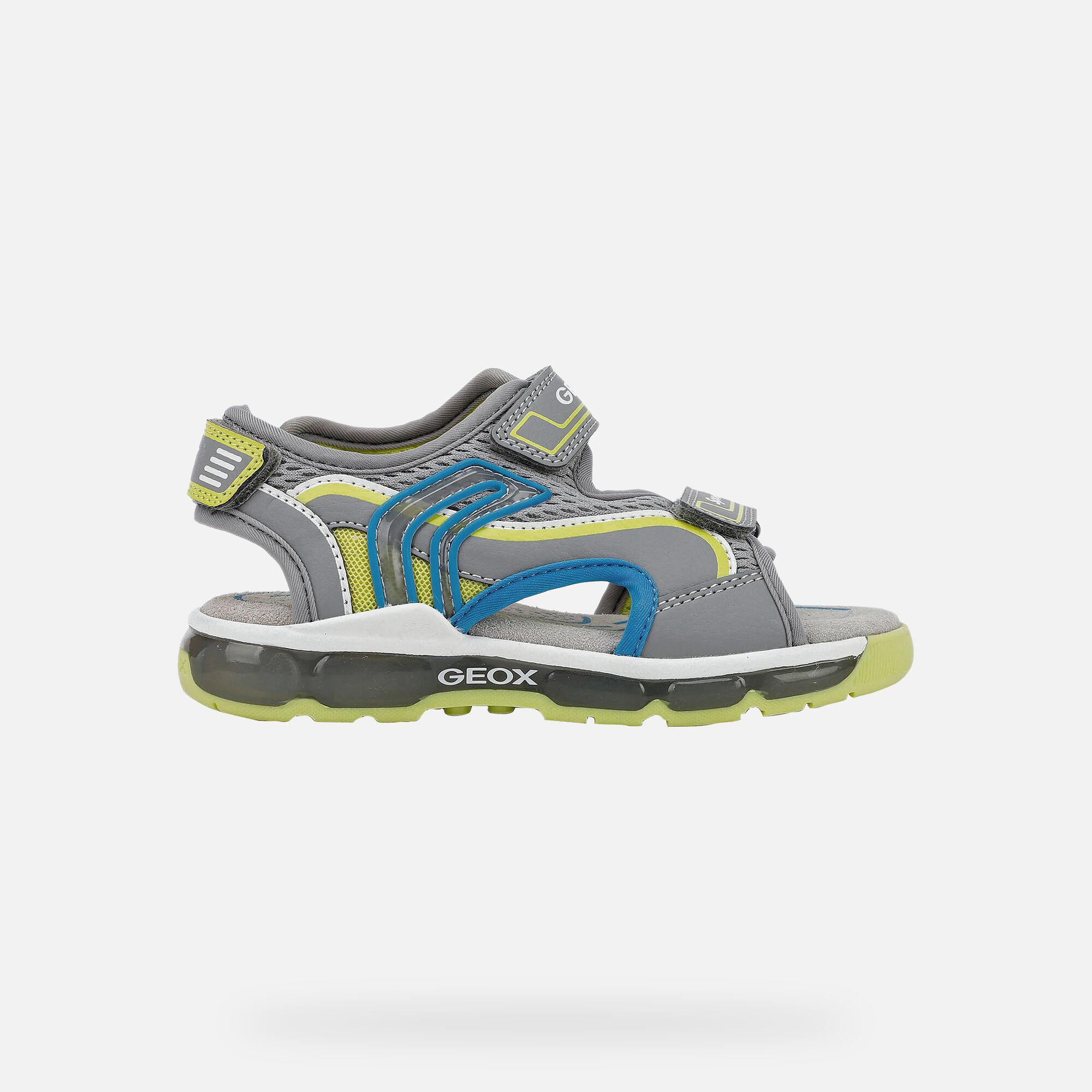 Geox light up sandals