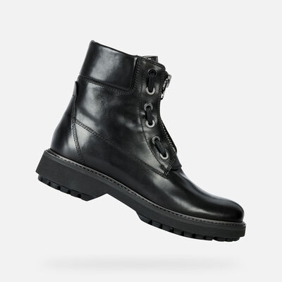 ANKLE BOOTS WOMAN GEOX ASHEELY PLUS WOMAN