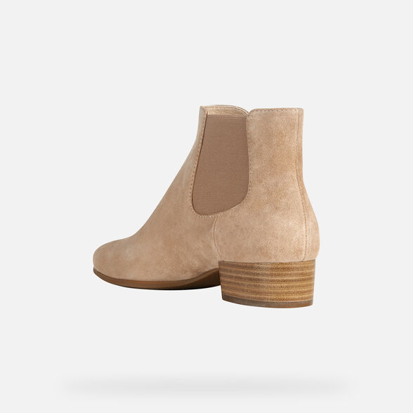 WOMAN ANKLE BOOTS GEOX PEYTHON WOMAN - 4