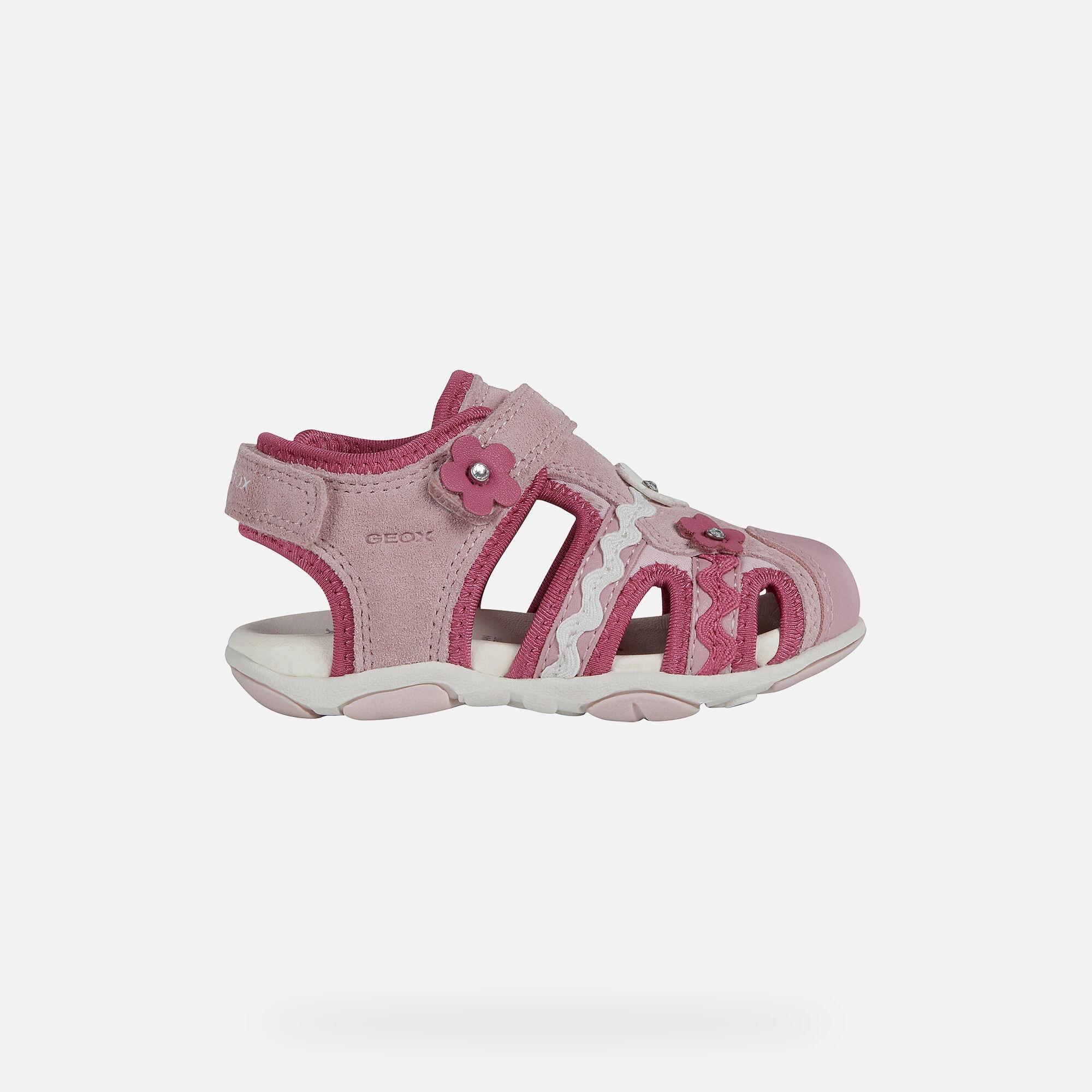 Geox AGASIM Baby Girl: Rose Sandals