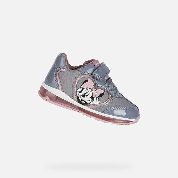 Intacto Acrobacia difícil de complacer  Geox TODO GIRL Bébé Niña: Sneakers Grises | Geox x Disney