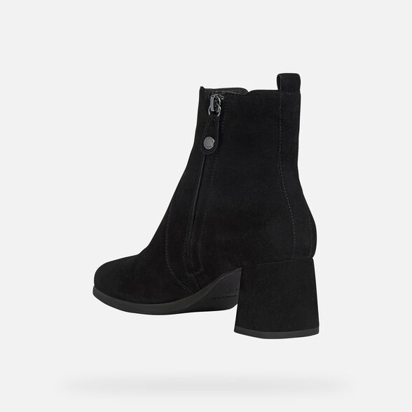 WOMAN ANKLE BOOTS GEOX CALINDA WOMAN - 4