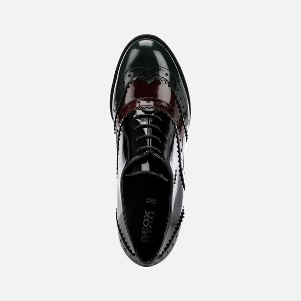 LACE UPS AND BROGUES WOMAN GEOX JACY WOMAN - 6