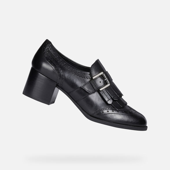 LACE UPS AND BROGUES WOMAN GEOX JACY WOMAN - 1