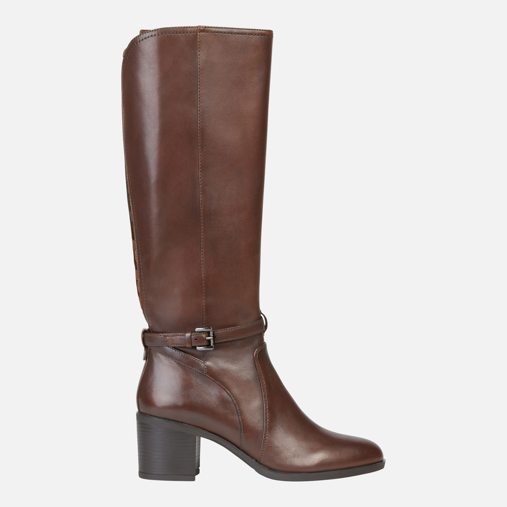 Geox GLYNNA Frau: braune High Heel Stiefeln | Geox ®