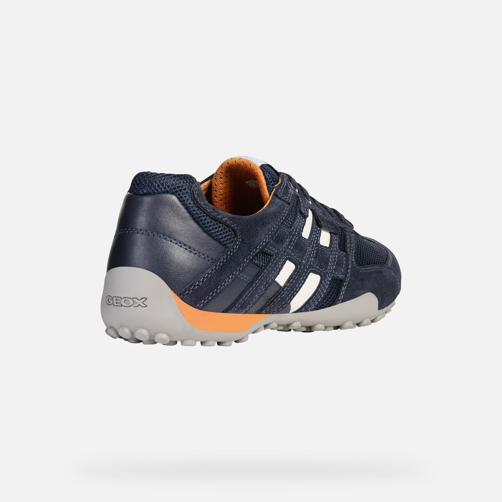 Geox UOMO SNAKE: Blue Navy Man Sneakers   Geox SS19