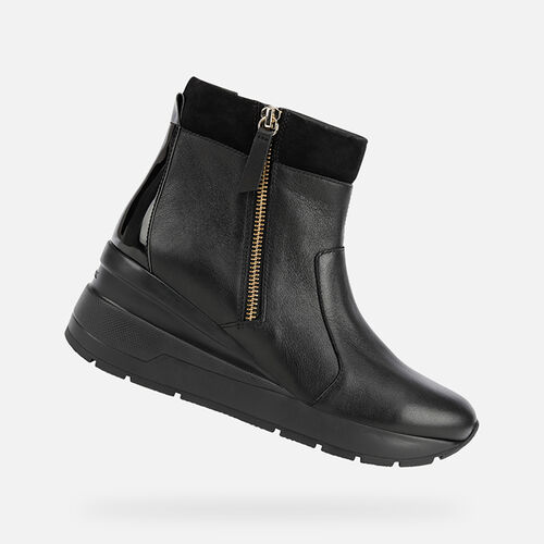 ANKLE BOOTS WOMAN GEOX ZOSMA WOMAN - null