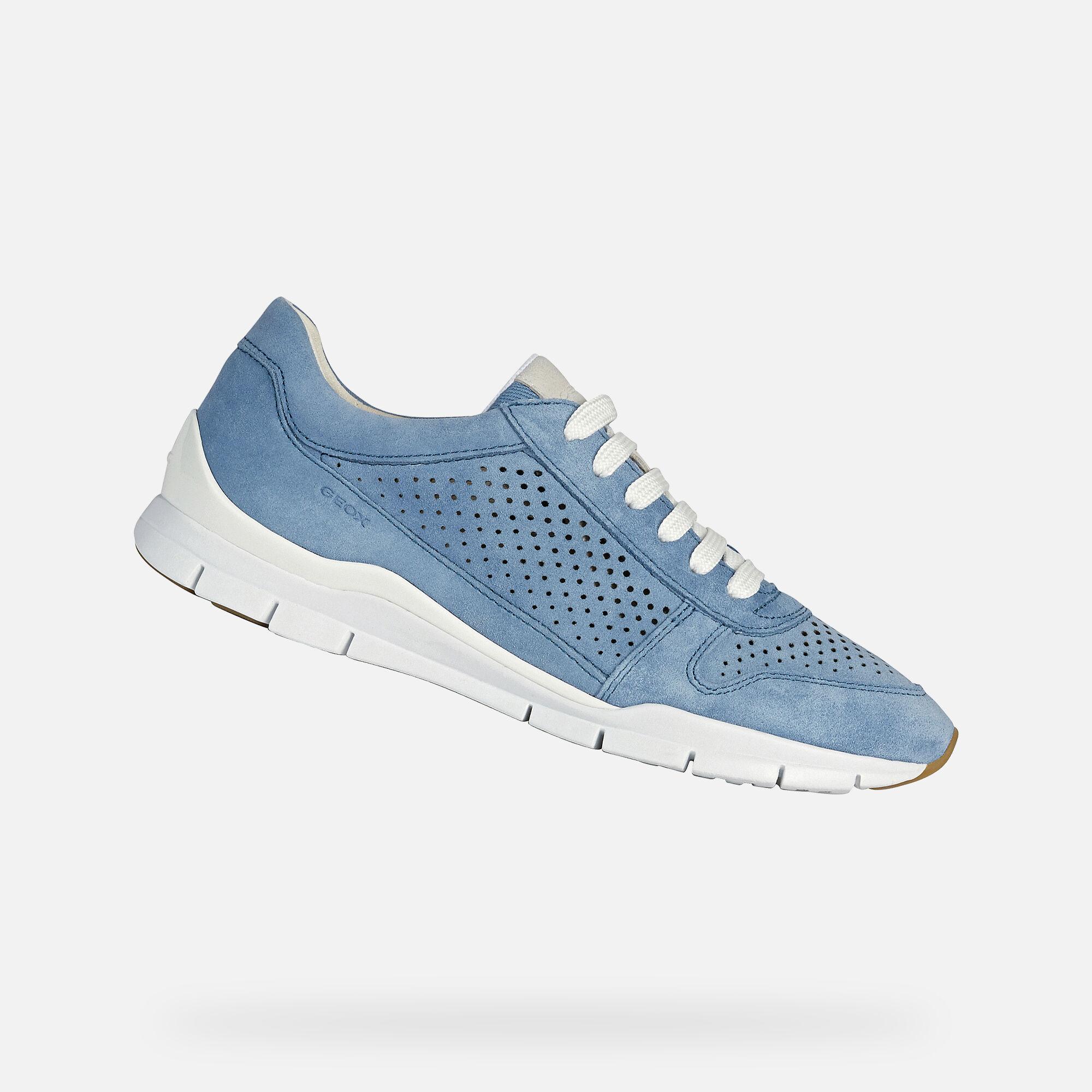 Geox SUKIE Woman: Lt Blue Sneakers