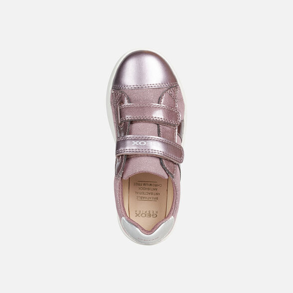 GIRL SNEAKERS GEOX DJROCK GIRL - 6