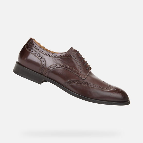 LEATHER MAN GEOX SAYMORE - 1