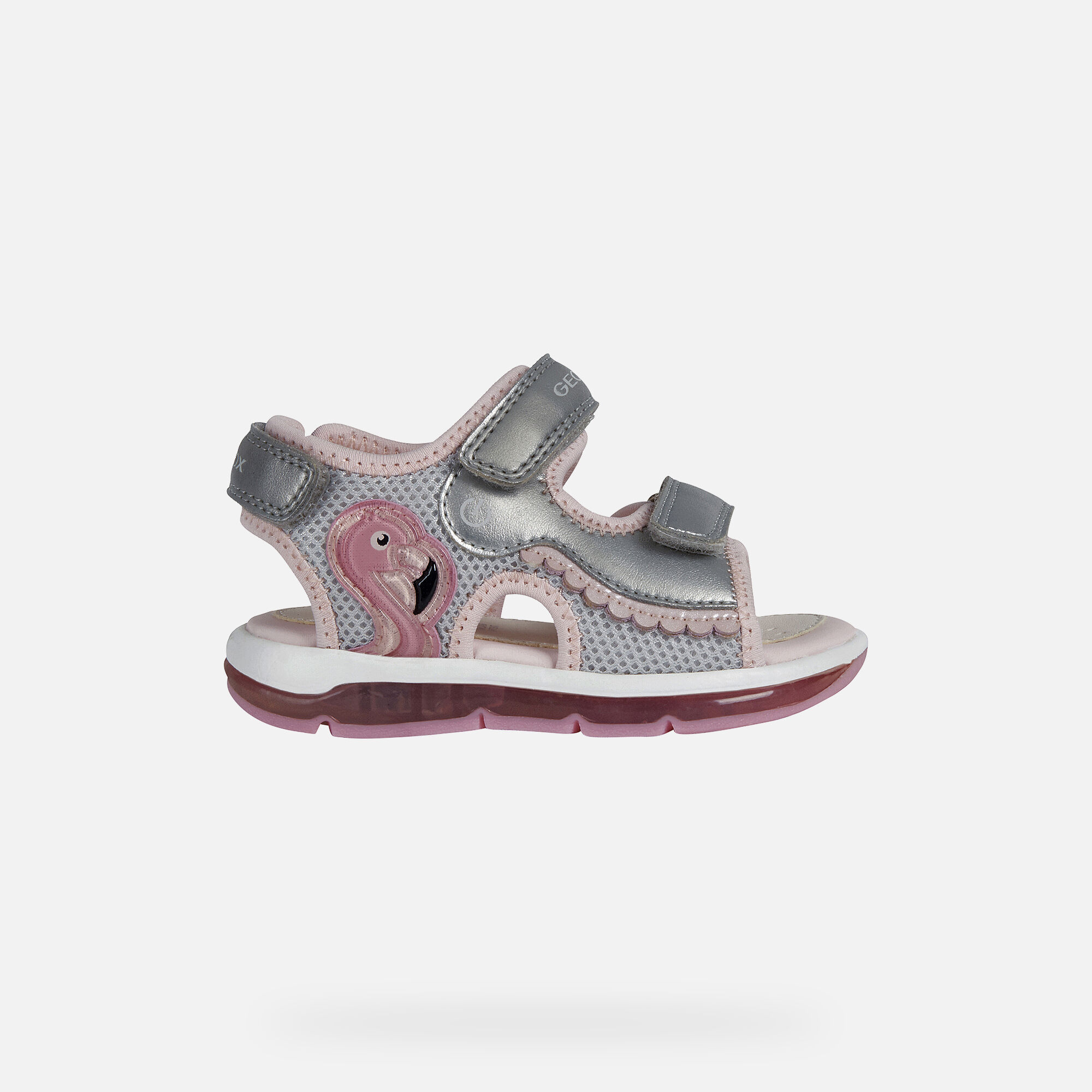 Geox TODO Baby Girl: Silver Sandals