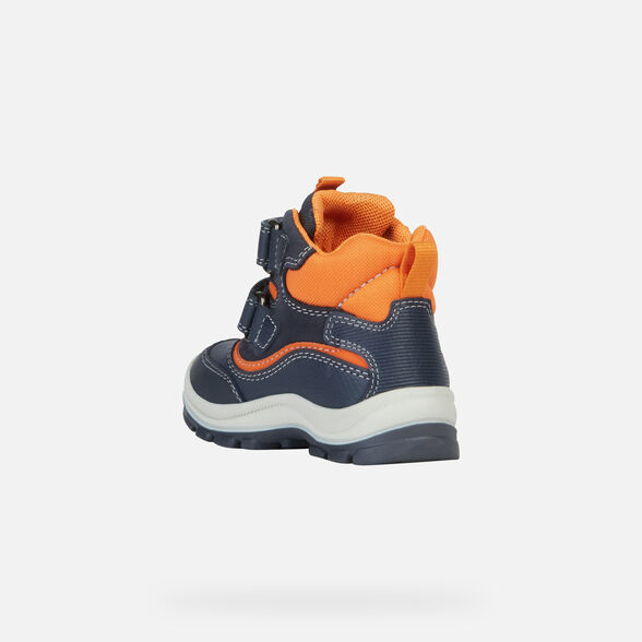 ANKLE BOOTS BABY GEOX FLANFIL BABY BOY ABX - 4