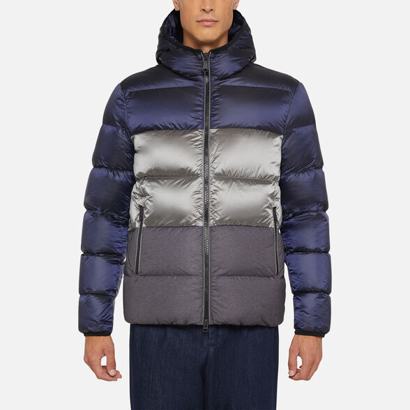 DOWN JACKETS MAN GEOX KASPAR MAN - 2