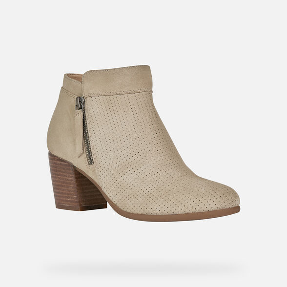 WOMAN ANKLE BOOTS GEOX NEW LUCINDA WOMAN - 3