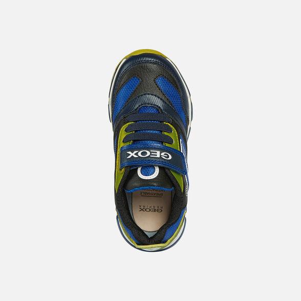 Suyo Zumbido A escala nacional  Geox ANDROID BOY Junior Boy: Navy blue Sneakers | FW20 Geox®