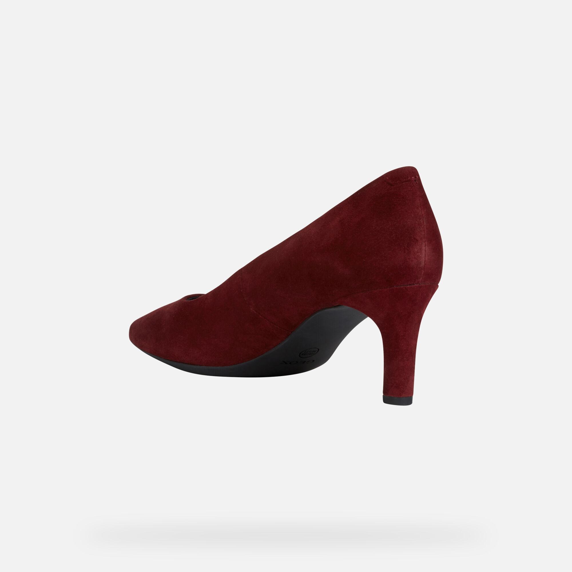 Geox BIBBIANA Femme Chaussures Bordeaux   Geox Boutique en ligne