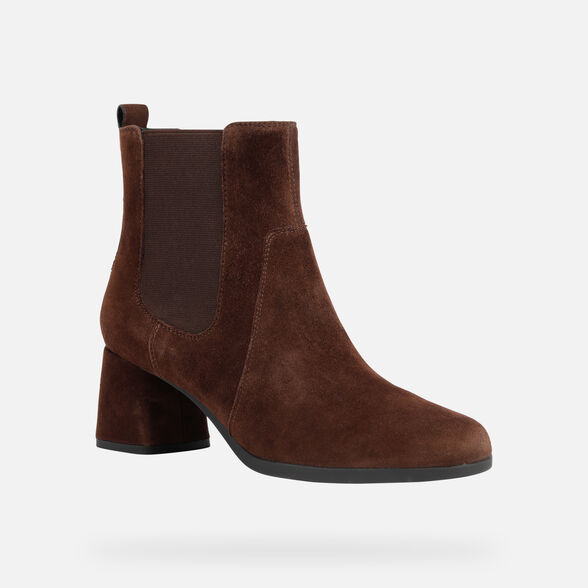 WOMAN ANKLE BOOTS GEOX CALINDA WOMAN - 3