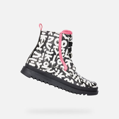 DEMI-BOTTES FILLE GEOX GILLYJAW FILLE