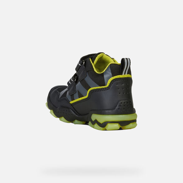 LIGHT-UP SHOES BOY GEOX BULLER ABX BOY - 4