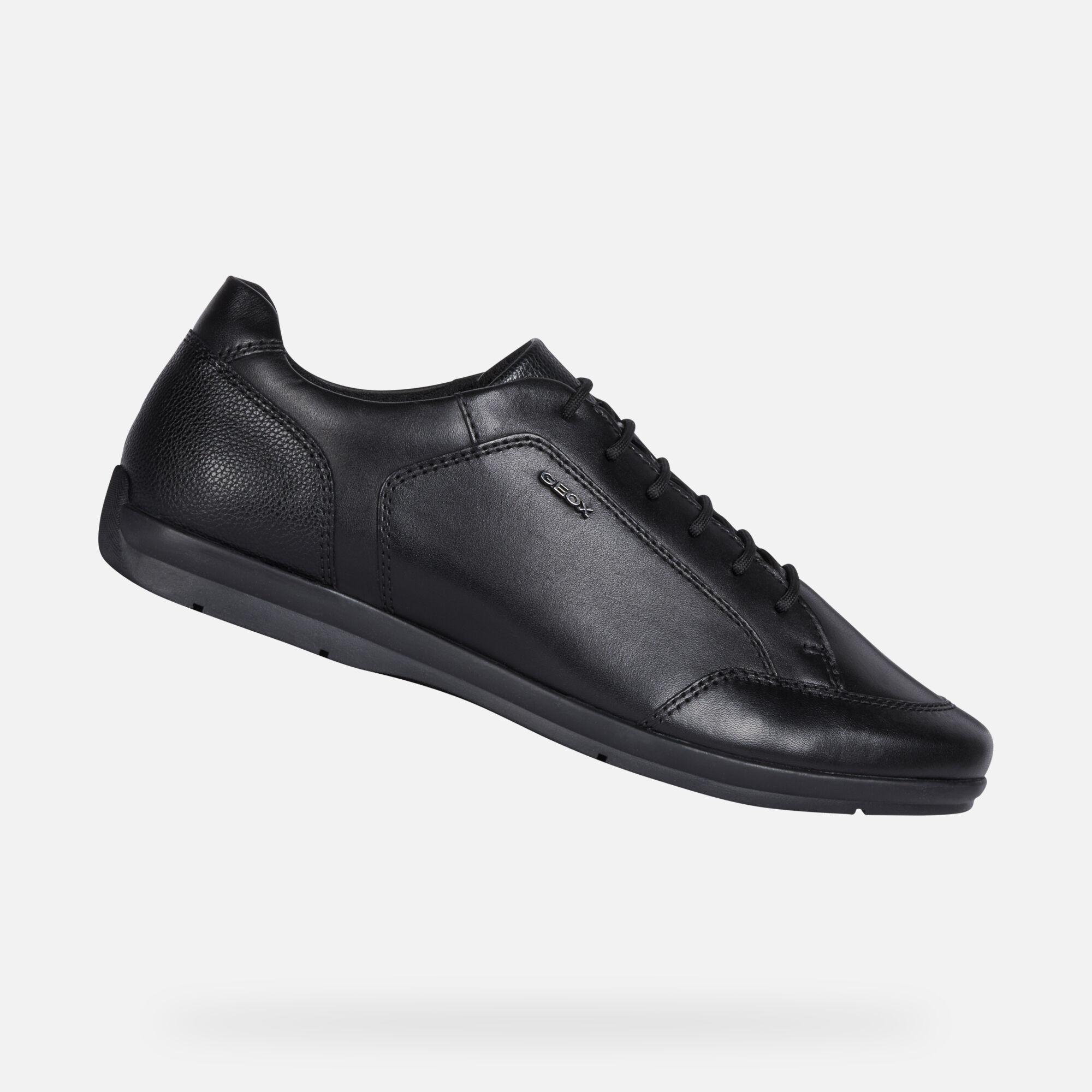 Geox ADRIEN Man: Black Shoes | FW20 Geox