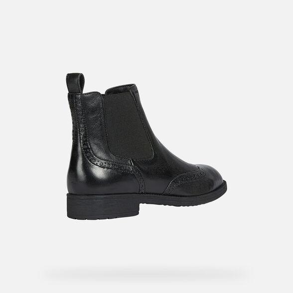 Crueldad Un evento Rebaja  Geox JAYLON Woman: Black Ankle Boots | Geox® Online Store