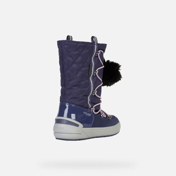 ANKLE BOOTS GIRL GEOX SLEIGH ABX GIRL - 5
