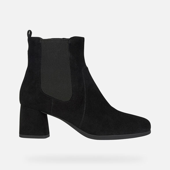 WOMAN ANKLE BOOTS GEOX CALINDA WOMAN - 2
