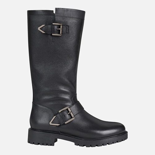 BOOTS WOMAN GEOX HOARA WOMAN - null