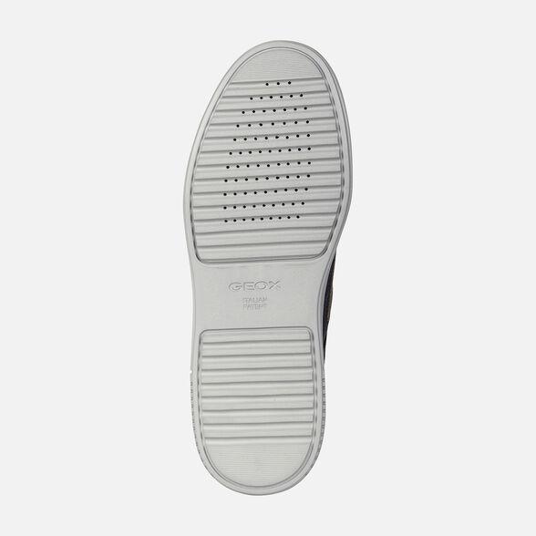 Miserable Primero radiador  Geox LEVICO B ABX Man: Roast chestnut Sneakers   Geox® Online