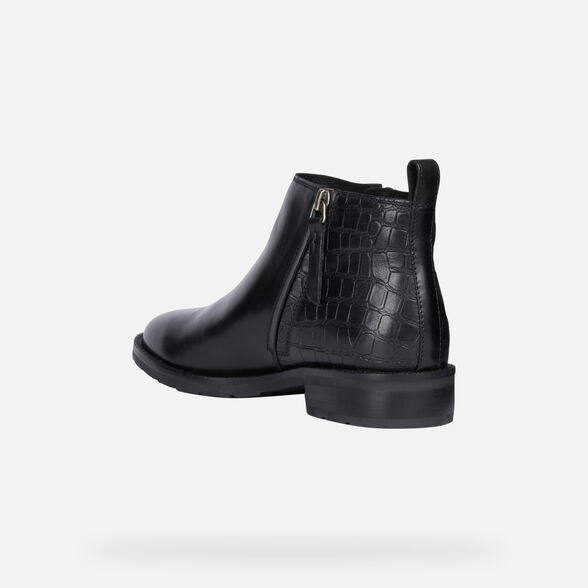 ANKLE BOOTS WOMAN GEOX BETTANIE WOMAN - 4